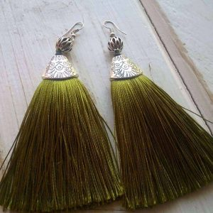 Tinsel Earrings