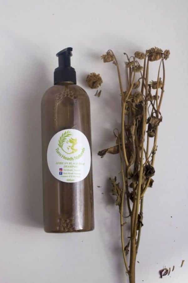 African Soap Shampoo by Turn Head Naturals