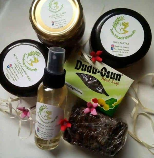 Get this skin renewal combo by Turn Heads Naturals