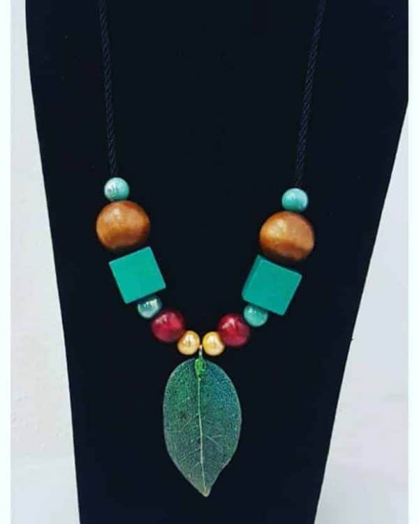 Gladly Creations Neck Piece [Green]
