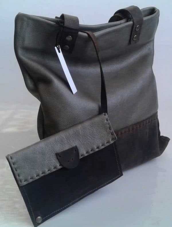 Funcat genuine leather Sparkle Handbag