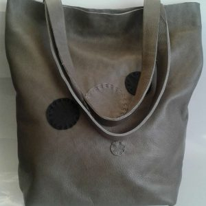 Funcat Dots Genuine Leather Handbag