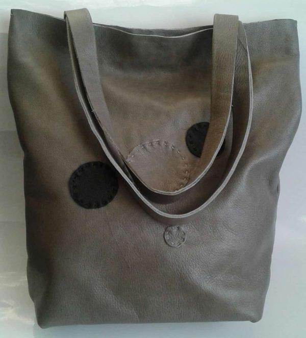 Funcat Dots Genuine Leather Handbag