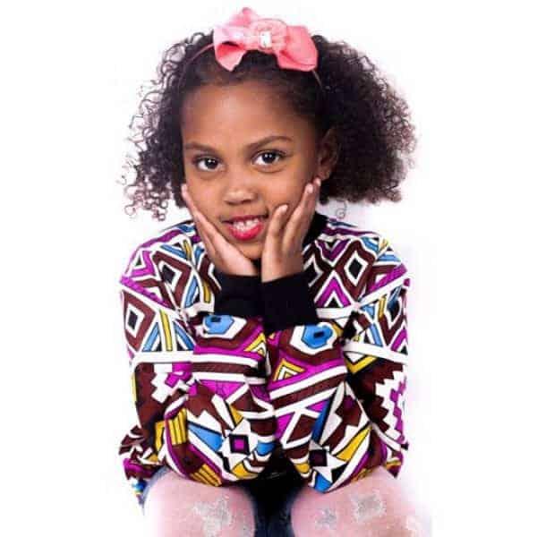 Kiddies Ndebele Bomber jacket