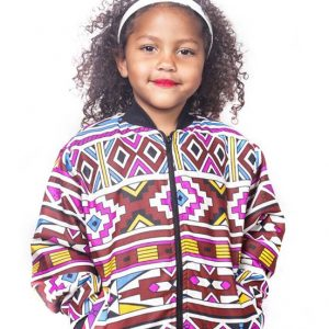Kiddies Ndebele Bomber jacket