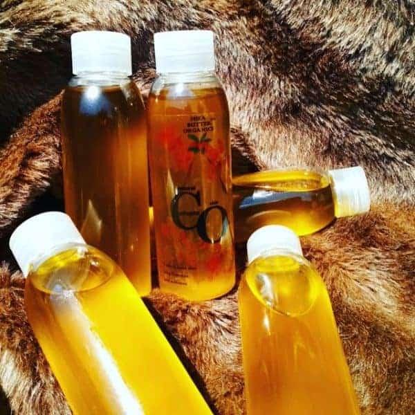 collagen skin oils with argan