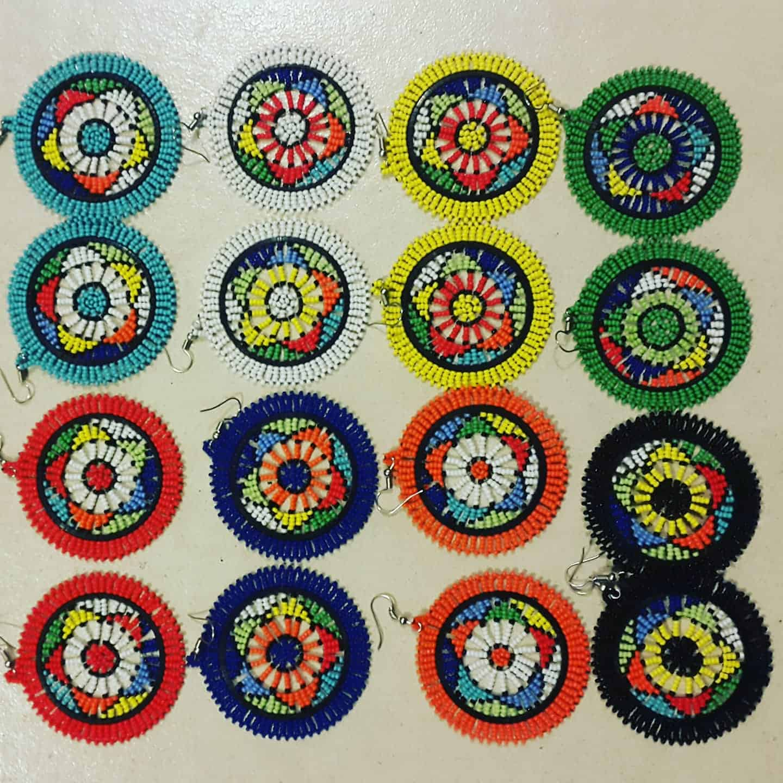 Clareb Flat Circle Earrings